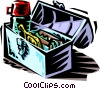 lunch pail Vector Clip Art picture