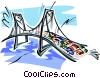 bridge Vector Clipart picture