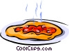 pizza Vector Clipart graphic