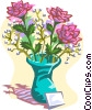 flowers Vector Clipart graphic