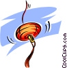 Vector Clip Art picture  of a paper lantern