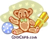 toy gifts Vector Clip Art picture