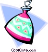 bottle - abstract Vector Clipart graphic
