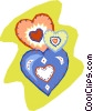 hearts in hearts Vector Clipart picture