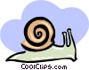 snail Vector Clip Art graphic