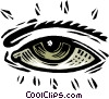 Vector Clipart picture  of a eye - symbol