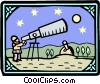 Vector Clipart graphic  of an ancient astronomy