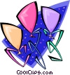 Vector Clipart picture  of a balloons - abstract