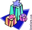 gifts - abstract Vector Clipart illustration