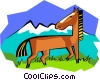 horse Vector Clipart image