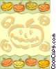 Vector Clipart illustration  of a Background/Halloween