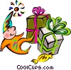 birthday/presents Vector Clipart illustration