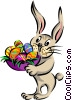 Easter bunny Vector Clipart image