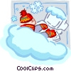 Seasonal work Vector Clip Art graphic