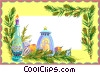 Vector Clip Art image  of a Background/special occasion