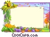 Background/fall landscape Vector Clip Art graphic