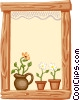 background/window sill Vector Clip Art picture