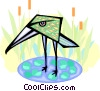 exotic bird Vector Clipart picture