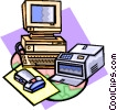 computers Vector Clip Art picture
