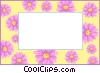text aid backdrop Vector Clipart illustration