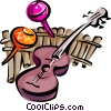 musical motif Vector Clip Art picture
