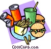 fast foods Vector Clip Art picture