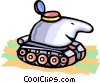 tank Vector Clipart image