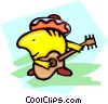 Mexican musician Vector Clipart picture