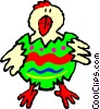 Easter chick Vector Clipart picture