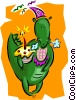 birthday/dinosaur Vector Clip Art picture
