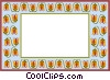 text aid backdrop Vector Clipart picture