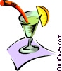 Vector Clipart graphic  of an alcoholic beverage
