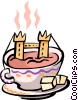 English Tea Vector Clipart picture