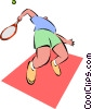 tennis Vector Clipart picture