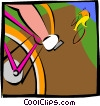 cycling Vector Clip Art picture