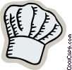 Vector Clip Art image  of a chef hat