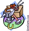 blacksmith Vector Clipart illustration