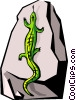 lizard Vector Clipart illustration