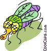 fly Vector Clipart illustration