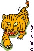tiger Vector Clipart illustration