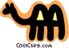 camel concept Vector Clip Art graphic