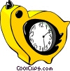 clock Vector Clipart illustration