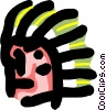 aboriginal man Vector Clipart picture