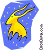 Taurus the bull Vector Clipart picture