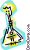 Vector Clipart picture  of a mandolin