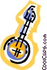 banjo Vector Clipart graphic