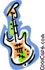 Vector Clip Art picture  of a bass