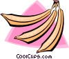 bananas Vector Clip Art graphic