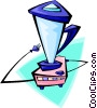 Vector Clip Art picture  of a blender