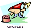 cartoon executioner Vector Clip Art picture